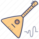 balalaika, instrument, music, world icon