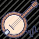 banjo, instrument, music, world