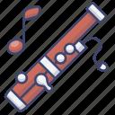 bassoon, instrument, music, wooden