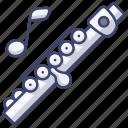 flute, instrument, music, piccolo