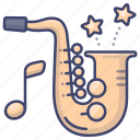 jazz, music, sax, saxophone