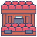 audience, theatre, hall, symphony icon