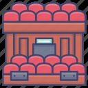 audience, hall, symphony, theatre icon