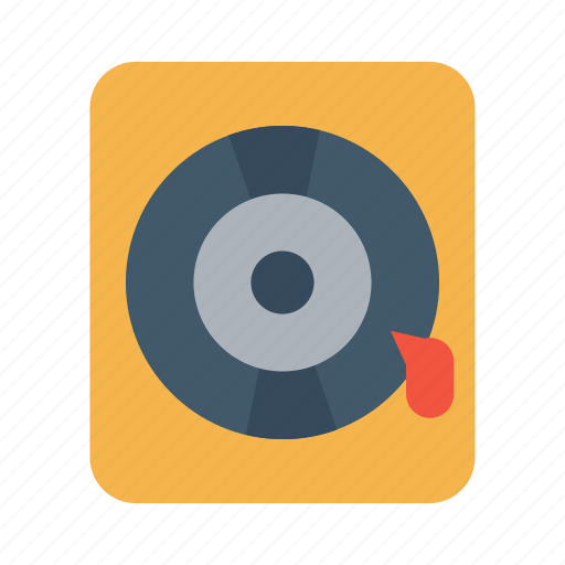 guitar, instrument, music, sing, song, vinyl record, voice icon