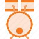 drum, drums, instrument, music, play icon