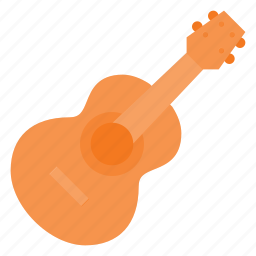 accoustic, guitar, instrument, music, play icon