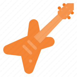 electric, guitar, instrument, music, play icon