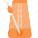 instrument, metronome, music, play, rythm icon