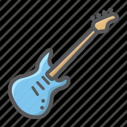 bass, electric, guitar, instrument, jazz, music, sound icon