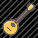 acoustic, folk, guitar, instrument, mandolin, music, sound