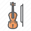 fiddle, instrument, melody, music, orchestra, sound, violin