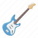 bass, electric, guitar, instrument, jazz, music, sound icon