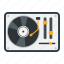 audio, dj, music, record, sound, turntable, vinyl icon