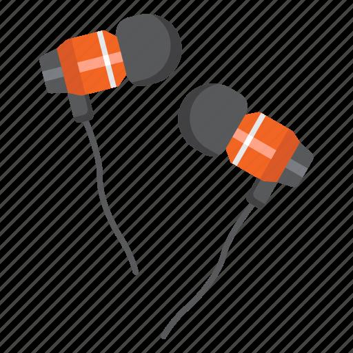 audio, device, ear, earphones, instrument, music, sound icon