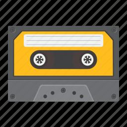 audio, cassette, media, music, play, retro, sound icon