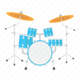 beat, drum, instrument, kit, music, set, sound icon