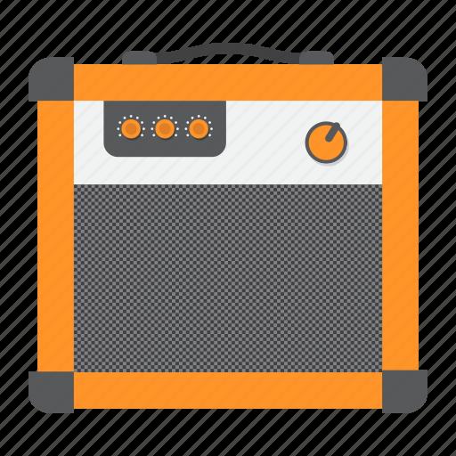 amp, amplifier, amplify, audio, music, rock, sound icon