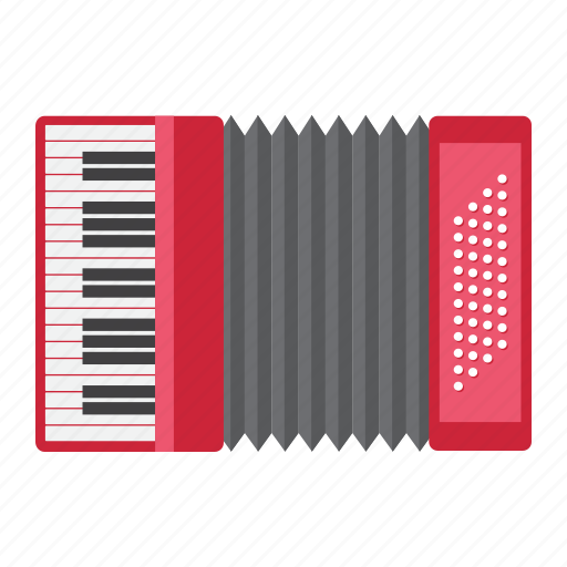 accordion, culture, instrument, melody, music, russian, sound icon