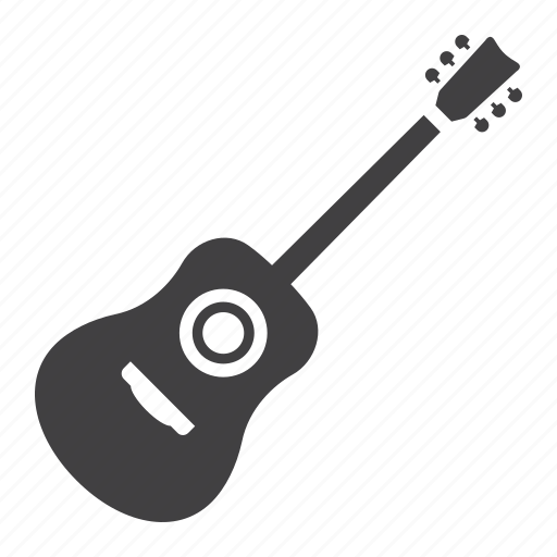 acoustic, electric, guitar, instrument, jazz, music, sound icon