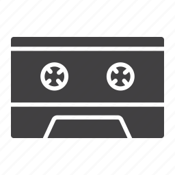 audio, cassette, media, music, play, retro, sound icon