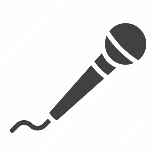 instrument, karaoke, microphone, music, sound, speech, vocal icon