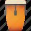 conga, instrument, music, play icon