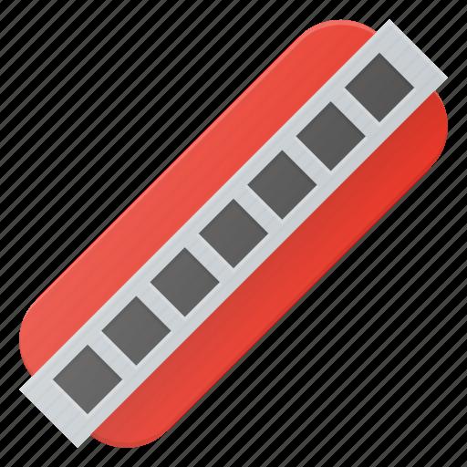 harmonica, instrument, music, play icon