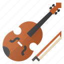 instrument, music, play, violine icon