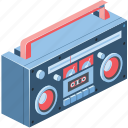 3d, art, audio, background, bass, box, button, cassette, cd, color, concert, design, disco, electronic, entertainment, equipment, ghetto, group, illustration, ios, isolated, isometric, listen, melody, music, musical, object, old, party, play, player, radio, record, recorder, retro, sound, speaker, stereo, sticker, style, system, tape, technology, tuner, vintage, volume, web, white icon