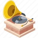 antique, art, audio, background, box, classic, design, disc, doodle, drawing, element, entertainment, equipment, fashioned, flat, gramophone, graphic, group, history, horn, illustration, instrument, isolate, isolated, isometric, leisure, melody, music, musical, object, old, phonograph, play, player, record, retro, sign, sound, sticker, style, symbol, technology, vintage, vinyl, web, white, wood