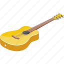 3d, acoustic, art, background, bass, bridge, cartoon, classic, classical, collection, concert, design, entertainment, equipment, fingerboard, frets, graphic, group, guitar, icon, icons, illustration, instrument, isolated, isometric, jazz, logo, logos, logotype, melody, metal, modern, music, musical, neck, object, play, pop, retro, rock, roll, silhouette, sound, string, style, symbol, vintage, white, wood, wooden, yellow icon