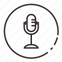 .svg, audio, microfone, mix, sound