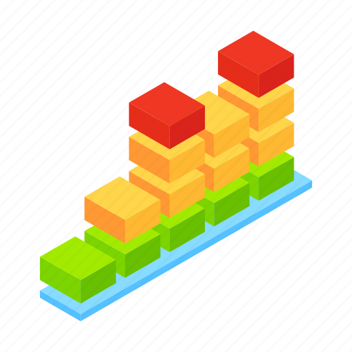 audio, isometric, music, musical, radio, sound, wave icon