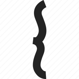 brace, music, music note, sheet music icon