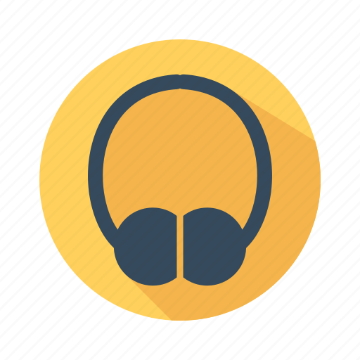 earphone, headphone, music, notes, sing, song, voice icon