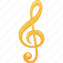 music, music note, musical, musical note, note, sheet music, treble clef icon