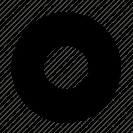 round, stop icon