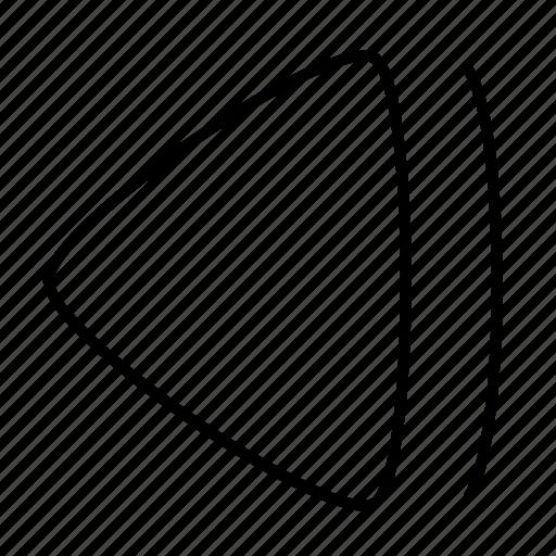 backward, pause, stop icon