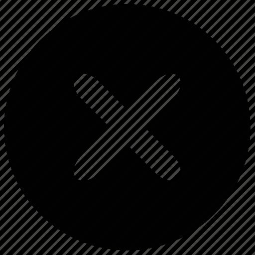 close, cut, delete, music, musical, no, prohibite icon