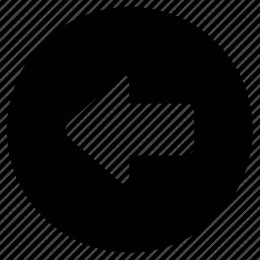 arrow, back, backward, basic, left, rewind, right icon