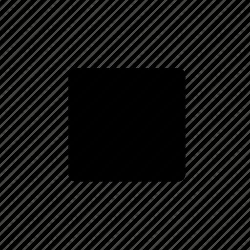 audio, media, music, sound, stop icon