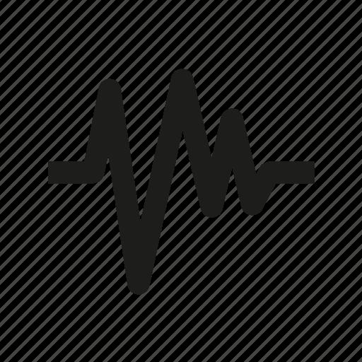 audio, music, sound, soundwave, wave icon