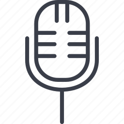 amplifier, microphone, music, sound icon
