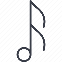 music, musical sign, note, sound icon