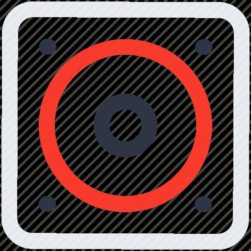 music, speaker, streamline icon icon