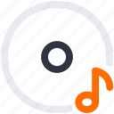 audio, dj, lp, mix, music, record, recording, sound, turntable icon icon