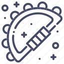 instrument, musical, tambourine icon