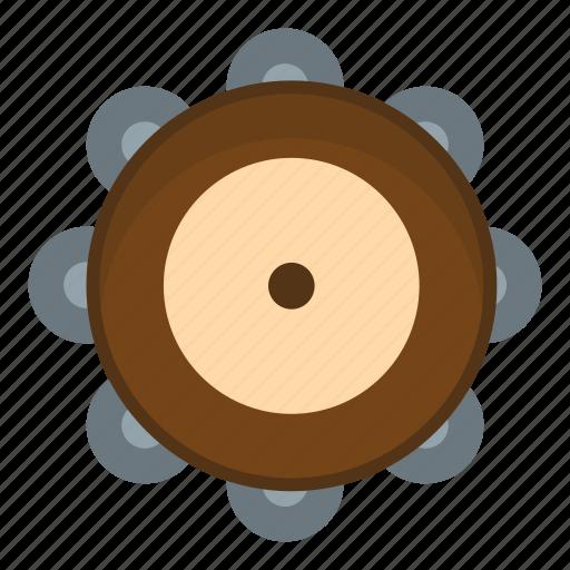 drum, instrument, music, musical, rhythm, sound, tambourine icon