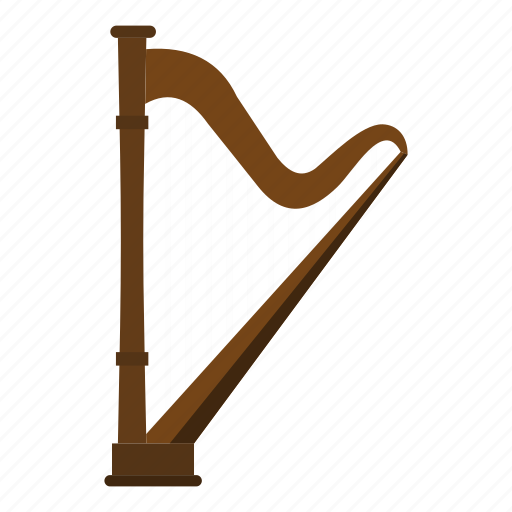 ancient, concert, harp, instrument, music, musical, string icon