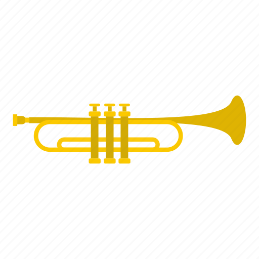 instrument, music, musical, orchestra, sound, trumpet, tube icon